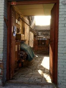 A local Siheyuan entrance.