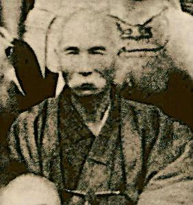 Itosu Anko, one of the masters influential in early Karate.