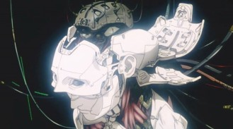 """Ghost in the Shell"", a futuristic, cyberpunk tale of a police unit tasked with hunting cyber criminals."
