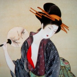 26818368edo-painters-japanese-geisha-with-fan-jpg