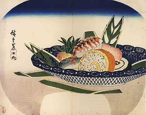 300px-Hiroshige_Bowl_of_Sushi
