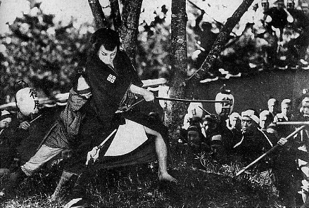 "Buntaro Futagawa's ""Orochi"".  The film is accompanied with Benshi, a narrative story-teller."