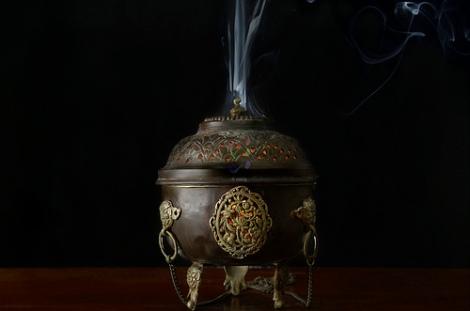 myrrh burner