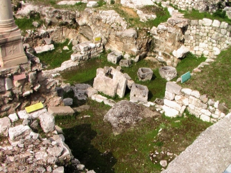 Said to be a likely site where Jesus healed the disabled man.