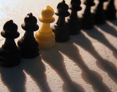 discrimination chess