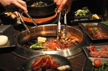 The shared cooking experience adds to the party atmosphere.  Many agree; Yakiniku is best enjoyed in a group.