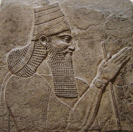 TIlglath-pileser III, Assyrian king who invaded Israel in Isaiah's time.