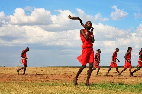 Maasai, semi-nomadic peoples of southern Kenya and northern Tanzania.