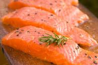 Foods like garlic and fatty fish, as in salmon,  help fight pneumonia.