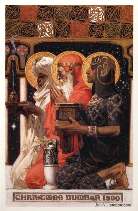 """The Three Wise Men"" - J.C. Leyendecker, 1900"