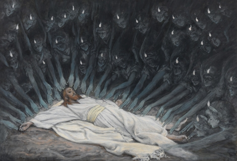"""""""Jesus Ministered to by Angels"""" - James Tissot, 1886-94"""
