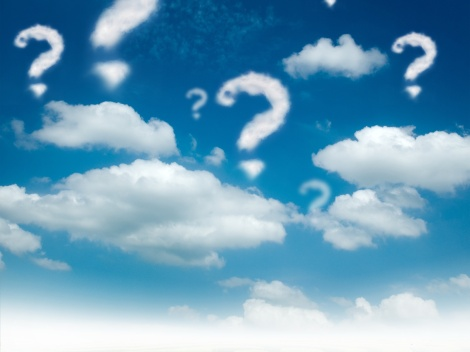 Cloud, Fragezeichen Fotolia